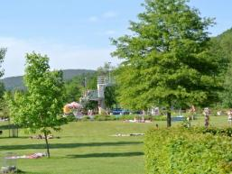 Burgsinner Freibad im Sinngrund / Spessart