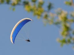 Paragliding im Spessart