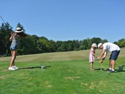 Spaß beim Golfen im Spessart