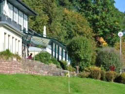Clubhaus vom Golfclub Bad Kissingen