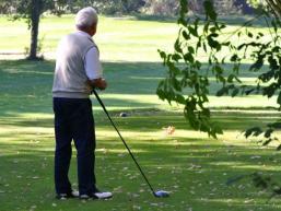 Golfspielen im Saaletal
