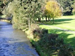 Naturnah - der Golfplatz in Bad Kissingen
