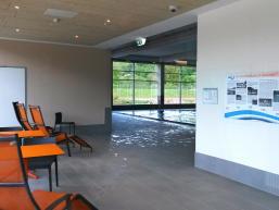Entspannungsbereich des Hallenbades von Gemünden