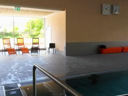 Liegenbereich des Schwimmbades in Gemünden