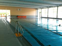 Schwimmerbecken des Hallenbades von Gemünden