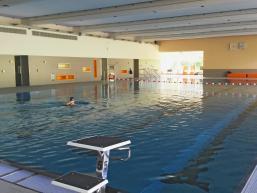 Schwimmen im Hallenbad von Gemünden