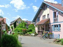 Häuser des SOS-Kinderdorfs Hohenroth