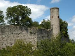 Wehrmauer mit Schutzturm
