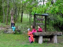 Rast im Kuhbachgrund bei Gössenheim