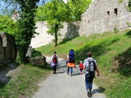 Auf der Homburg bei Gössenheim