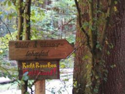Wald- und Wasserlehrpfad Rieneck