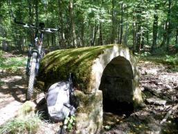 Willkommene Rast beim Mountainbiken