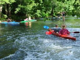 Wasserwandern per Kajaktour