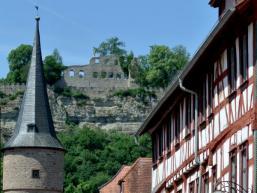 Burgruine oberhalb von Karlstadt