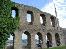 Ausblick über Karlstadt am Main