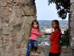 Die Aussicht lohnt von der Burg