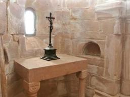 Kapelle der Burg Rieneck im Bergfried