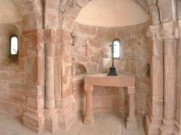 Romanische Kapelle im Dicken Turm der Burg Rieneck