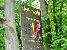 Der Kletterwald Spessart in Heigenbrücken