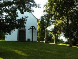 Auf dem Gipfel des Herrgottsberg steht die Kreuzkapelle