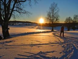 Winterwanderparadies Bayrische Schanz im Spessart