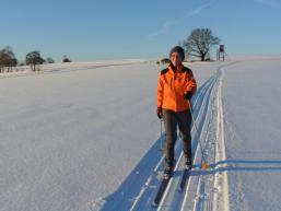 Wintermärchen an der Bayrischen Schanz