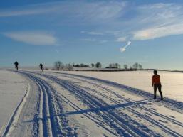 Wintermärchen in der Natur