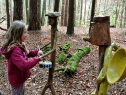 Musizieren im Spessartwald