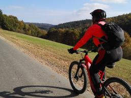 Mountainbiketour im Spessart
