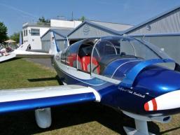 Rundflug mit Motorflugzeug über den Spessart