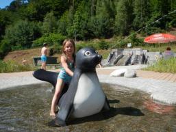 Kinderspaß im Freibad