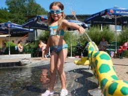 Kinderplanschbereich im Schwimmbad Heigenbrücken