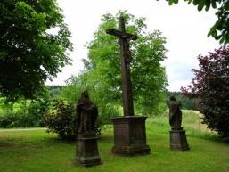 Das Brunnbergkreuz bei Obersinn