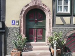 In der Altstadt von Rieneck