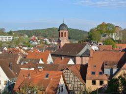 Kirche und Burg von Rieneck