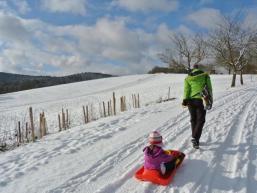 Freizeitspaß im Schnee