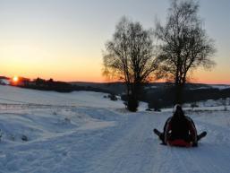 Ein Wintermärchen im Spessart erleben