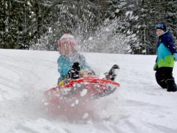 Winterspaß im Schnee