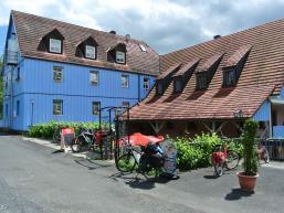 Biergarten am Saaletalradweg