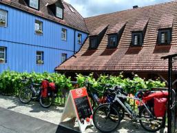 Pension, Gasthof und Biergarten