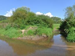 Flussidylle an der Saale