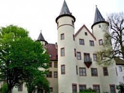 Früherer Herrschaftssitz der Grafen von Rieneck