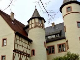 Türmchen und Erger am Schloss in Lohr