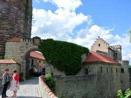 Burganlage Schloss Saaleck