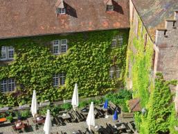 Stilvolles Ambiente im Schloss
