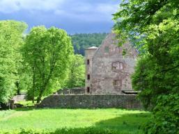 Die Schönrain bei Neuendorf am Main