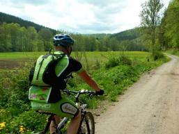 Natur erleben beim Radfahren im Schondratal