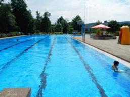 Sportbecken im Freibad Burgsinn