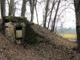 Foto der Wasserhausruine am Fellenberg