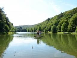 Badesee im Sindersbachtal